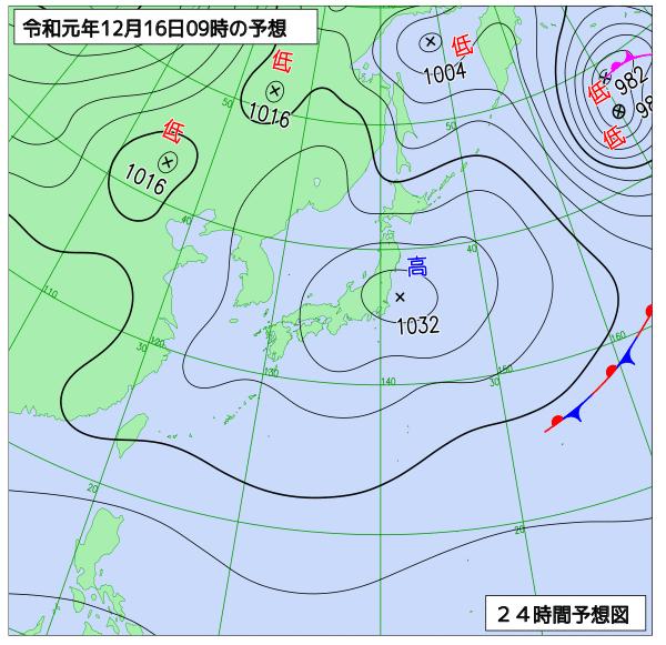16日の風予報