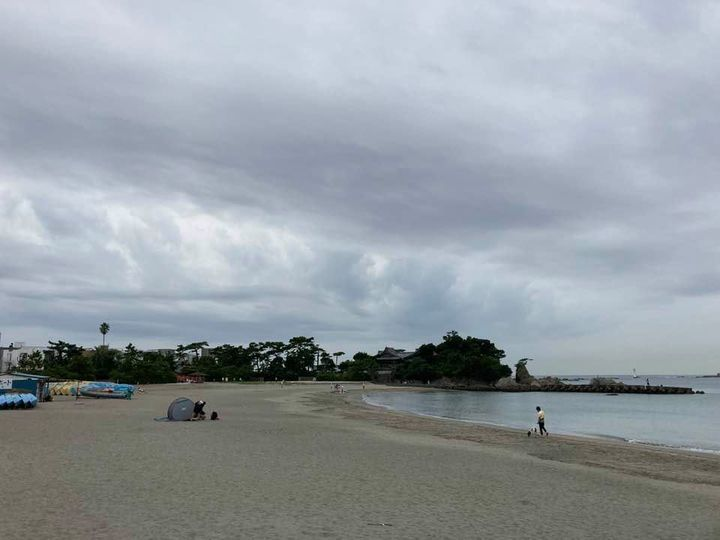 9月14日 森戸海岸